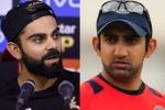 IPL 2019 : गौतम गंभीर के सवाल उठाने पर विराट कोहली ने दिया करारा जवाब