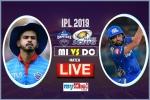 IPL 2019, DC vs MI, LIVE: मुंबई ने टॉस जीतकर पहले बल्लेबाजी का फैसला लिया