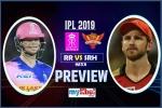 SRH vs RR Match Preview: दर्शकों को देखने को मिलेगा 'हाईवोल्टेज' मुकाबला, हैदराबाद चाहेगा जीत