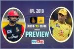 IPL 2019, RCB vs CSK, Preview: 'घर' में कोहली के सामने होगी धोनी की कठिन चुनौती