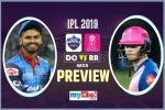 IPL 2019, RRvDC, Preview: नए कप्तान के साथ जीत का क्रम जारी रखना चाहेगा राजस्थान