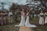 वैवाहिक बंधन में बंधी ऑस्ट्रेलिया और न्यूजीलैंड की दो महिला क्रिकेटर, देखें तस्वीरें