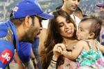 रोहित शर्मा ने अपनी बेटी समायरा के साथ मनाया जीत का जश्न, देखें वीडियो