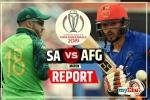 विश्व कप 2019: अफगानिस्तान को रौंदकर दक्षिण अफ्रीका ने दर्ज की पहली जीत