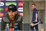 बाउंड्री नियम को लेकर विलियमसन-मॉर्गन के विचार अलग, क्या बोले दोनों कप्तान