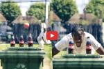 बॉटल कैप चैलेंज : जोफ्रा आर्चर ने अपनी रफ्तार से खोला ढक्कन, VIDEO हुआ वायरल