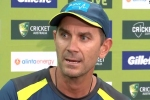 आस्ट्रेलियाई कोच का बयान- हम जीतने के लिए आए हैं, हेलमेट पर गेंदें मारने के लिए नहीं