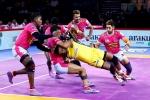तेलुगु टाइटंस ने जयपुर पिंक पैंथर्स को 24-21 से हराया