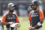 डे-नाइट टेस्ट के लिए कोलकाता में सबसे पहले उपस्थिति दर्ज कराएंगे कोहली-रहाणे