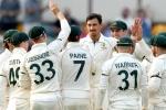 AUS vs PAK: पहले टेस्ट में स्टार्क-कमिंस के आगे पाकिस्तान ने टेके घुटने
