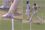 पाकिस्तानी क्रिकेटर के आउट होने पर मचा बवाल, क्या ये नो बाॅल है? देखें वीडियो