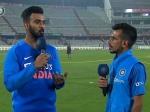 1st T20: चहल टीवी पर लोकेश राहुल ने खोला राज, बताया- कैसे विराट के साथ जिताया मैच