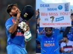 1st ODI, IND vs WI: जब धोनी के ग्राउंड पर लगे 'पंत-पंत' के नारे, जानें क्या बोले ऋषभ
