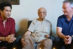 100 साल का हुआ यह भारतीय क्रिकेटर, अनोखे अंदाज में जन्मदिन मनाने पहुंचे सचिन तेंदुलकर
