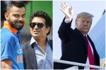 डोनाल्ड ट्रंप ने लिया सचिन-कोहली का गलत नाम तो ICC ने उड़ाया मजाक