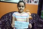 Coronavirus : 10 साल की चेस खिलाड़ी अर्शिया दास ने किया दान, त्रिपुरा के CM ने किया शुक्रिया