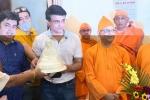 कोरोना वायरस के कहर के बीच 25 साल बाद बेलूर मठ पहुंचे सौरव गांगुली, दान किया 2000 किलो चावल