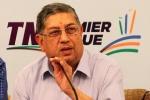 एन श्रीनिवासन ने शशांक मनोहर पर लगाए आरोप, कहा- इसने भारत को नुकसान पहुंचाया है