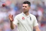 जेम्स एंडरसन ने तोड़ा ICC का नियम, कैमरे में कैद हुई उनकी ऐसी हरकत