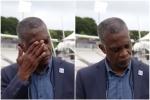 नस्लवाद पर बोलते हुए टूट गया लीजेंड, भावुक होने के बाद कैमरे के सामने रो पड़े होल्डिंग- VIDEO