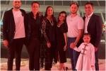 परिवार के साथ दुबई हैं धोनी, जीवा की क्यूट फोटो हुई वायरल