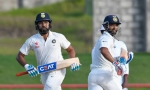 IND vs ENG: पहले टेस्ट के लिए चेन्नई पहुंचे अजिंक्य रहाणे और रोहित शर्मा