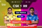 CSK vs RR: चेन्नई-राजस्थान के मुकाबले में इस टीम के साथ जीत सकते है Dream 11 मे ईनाम, देखें हेड टू हेड आंकड़े