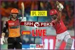 PBKS vs SRH Match 14 Live: दूसरे डबल हेडर में पंजाब के सामने सनराइजर्स