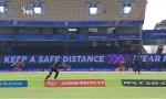 मैक्सवेल-डिविलियर्स के तूफान से पहले राहुल त्रिपाठी के शानदार कैच ने जीता दिल- VIDEO