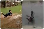 नदी में गोते लगाकर लपके शानदार कैच, चोपड़ा ने शेयर किया वीडियो