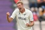 IND vs NZ WTC FInal: काइल जैमिसन के पंजे में फंसा भारत, 217 रन पर समेटकर रचा इतिहास