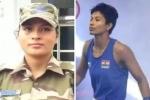 बेटियों का कमाल : एक बहन ने किया मेडल पक्का, दूसरी देश की रक्षा में तैनात