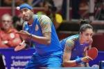 Table Tennis : मिश्रित युगल मुकाबले में हारी शरत-बत्रा की जोड़ी, चीन पड़ा भारी