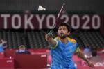 Tokyo 2020 : साई प्रणीत ओलंपिक से बाहर, पुरुष एकल में भारत की चुनौती समाप्त