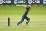 1st T20I, IND vs SL: 5 चौके 2 छक्के लगाकर सूर्यकुमार ने जड़ा अर्धशतक, 50 से चूके धवन