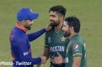 IND vs PAK: मैच के बाद कोहली ने बाबर आजम को दी बधाई, रिजवान को लगाया गले