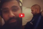 रोहित शर्मा ने वायरल किया धवन का वीडियो, फैंस से पूछा- जट्टजी क्या कर रहे हैं
