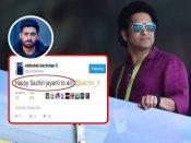 ट्वीट कंट्रोवर्सी में घिरे अभिषेक बच्चन, सचिन को बर्थडे पर विश किया 'सचिन जयंती'