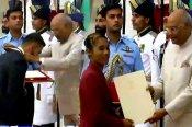 विराट कोहली-मीराबाई चानू को खेल रत्न, हिमा दास को अर्जुन अवार्ड से राष्ट्रपति ने किया सम्मानित