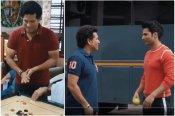 खेल दिवस पर सचिन ने की वरुण धवन की गेंदों की धुनाई, वृद्धाश्रम में खेला कैरम, VIDEO