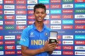 U19 स्टार यशस्वी जायसवाल की 'मैन ऑफ द टूर्नामेंट' ट्रॉफी 2 टुकड़ों में टूटी