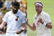 ICC Test Rankings में ब्रॉड ने लगाई जबरदस्त छलांग, जसप्रीत बुमराह को हुआ नुकसान