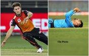 SRH को दोहरा झटका, मिशेल मार्श को लगी चोट, फिर साथी बल्लेबाज से टकराकर राशिद खान हुए घायल- VIDEO