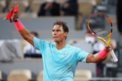 French Open : राफेल नडाल ने कोर्डा को हराया, लगातार 14वीं बार क्वार्टर फाइनल में पहुंचे
