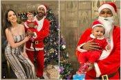 हार्दिक पांड्या बने सांता, नताशा और बेटे अगस्त्य के साथ मनाया क्रिसमस- देखें तस्वीरें