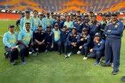दुनिया के सबसे बड़े स्टेडियम पर 50 ठोंकने वाले पहले खिलाड़ी बने सौरव गांगुली, जय शाह की टीम को मिली जीत