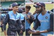 IND vs AUS: बुमराह ने तोड़ा एक और मिथक, सिडनी में थमाई नवदीप सैनी को टेस्ट कैप- VIDEO