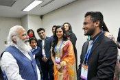 ढाका में पीएम नरेंद्र मोदी से मिले शाकिब-अल-हसन, प्रधानमंत्री की लीडरशिप को सराहा