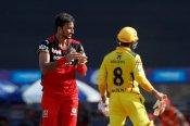CSK vs RCB : हर्षल पटेल ने 6 गेंदों में लुटाए 37 रन, जानिए काैन सी गेंद पर क्या हुआ