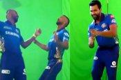 IPL 2021 : मराठी गाने पर जमकर थिरके पांड्या ब्रदर्स और रोहित शर्मा, देखें वीडियो